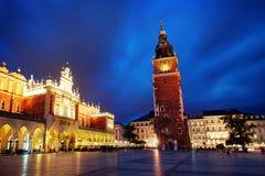 De oude stad van Krakau royalty-vrije stock fotografie