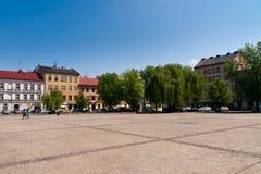 De oude stad van Krakau Royalty-vrije Stock Afbeeldingen
