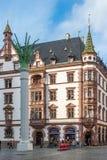 De oude stad van Leipzig Stock Fotografie