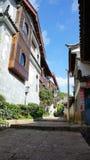 De oude stad van Lijiang Royalty-vrije Stock Foto