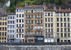 De oude stad van Lyon Royalty-vrije Stock Foto's