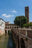 De Oude Stad van Mantova Stock Foto's