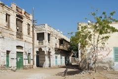 De oude stad van Massawa in Eritrea Stock Foto's