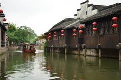 De oude stad van Nanxun stock foto