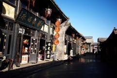 De Oude Stad van Pingyao stock afbeelding