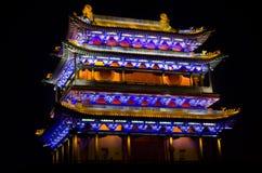 De oude stad van Pingyao stock afbeeldingen