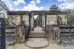De Oude Stad van Polonnaruwa Stock Afbeelding