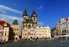 De Oude Stad van Praag Royalty-vrije Stock Foto