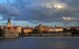 De Oude Stad van Praag Stock Foto's