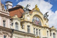 De Oude Stad van Praag royalty-vrije stock foto's
