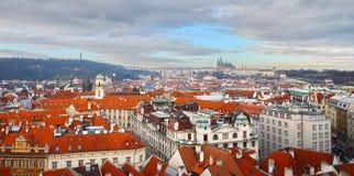 De Oude Stad van Praag, Tsjechische Republiek Stock Fotografie