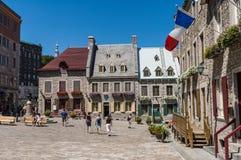 De oude Stad van Quebec, Canada Royalty-vrije Stock Foto