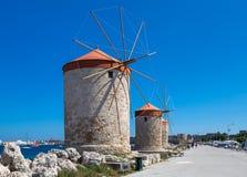 De oude stad van Rhodos Royalty-vrije Stock Foto