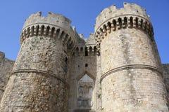 De oude stad van Rhodos stock foto