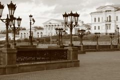 De oude stad van Rusland Stock Foto's