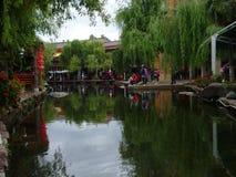 De oude stad van Shuhe Stock Foto's