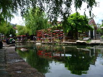 De oude stad van Shuhe Stock Afbeelding