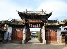 De oude Stad van Shuhe Stock Foto