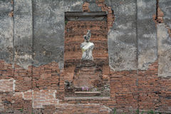 De oude stad van Si Ayutthaya van Ayutthaya Phra Nakhon Royalty-vrije Stock Afbeelding