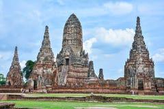 De oude stad van Si Ayutthaya van Ayutthaya Phra Nakhon Royalty-vrije Stock Afbeeldingen
