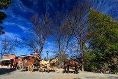 De oude stad van Sonoma royalty-vrije stock afbeelding