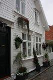 De Oude Stad van Stavanger Royalty-vrije Stock Afbeelding