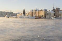 De Oude Stad van Stockholm Royalty-vrije Stock Foto's