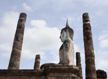 De Oude Stad van Sukhothai Royalty-vrije Stock Afbeeldingen