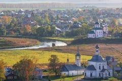 De oude stad van Suzdal royalty-vrije stock afbeelding