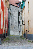 De Oude Stad van Tallinn Stock Foto's