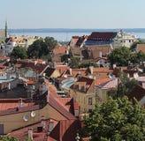 De Oude Stad van Tallinn Stock Foto