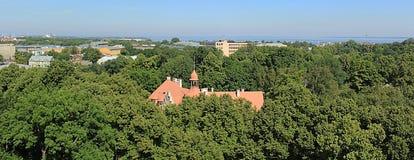 De Oude Stad van Tallinn Royalty-vrije Stock Afbeeldingen