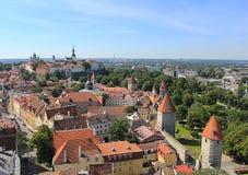 De Oude Stad van Tallinn Royalty-vrije Stock Foto's