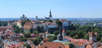 De Oude Stad van Tallinn Stock Afbeeldingen