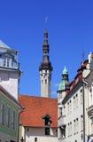 De oude stad van Tallinn ` s Royalty-vrije Stock Afbeeldingen