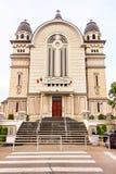 De oude stad van Targu mures Roemenië stock foto's