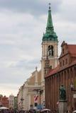 De oude stad van Torun Stock Afbeeldingen