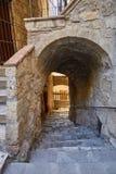 De oude stad van Toscanië Het concept van Italië Royalty-vrije Stock Foto