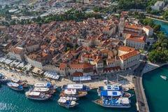 De oude stad van Trogir Royalty-vrije Stock Afbeelding