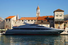 De oude stad van Trogir, Kroatië. Royalty-vrije Stock Fotografie
