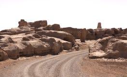 De oude stad van Turpan Stock Afbeelding