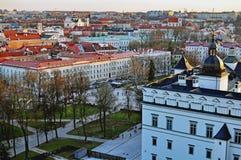 De oude stad van Vilnius Royalty-vrije Stock Afbeeldingen