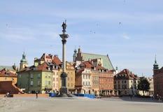 De oude stad van Warshau, Polen Stock Foto