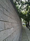 De oude stadsmuur van Xingtai Royalty-vrije Stock Afbeelding