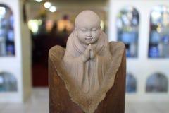 De oude standbeelden van Boedha Royalty-vrije Stock Foto's