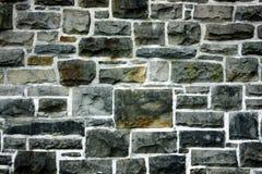 De oude steenachtige muur Stock Foto