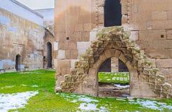 De oude steentreden Stock Afbeelding