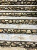 De oude stenen zijn ontwerp voor trap Stock Foto