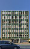 De oude stijl bedrijfsbouw van Bern zwitserland Stock Foto