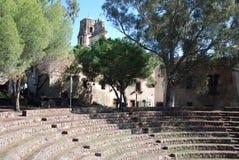 De oude Stijl van het theater - Lipari - Lipari stock foto